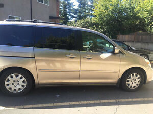 2005 Honda Odyssey Touring, Navi, Leather,Roof