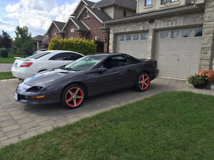1994 Chevrolet Camaro Z-28 6 Speed T56 With Vette Rims and Tires