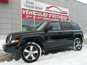 Jeep Patriot 4WD 4dr High Altitude+CUIR+TOIT+4X4+MAGS 2016