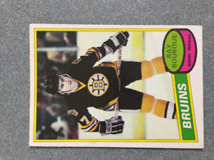 Ray Bourque 1980 OPC Rookie Card