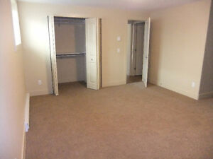 One bedroom Walk Out Suite for rent