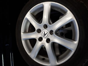Acura tsx mags and tires