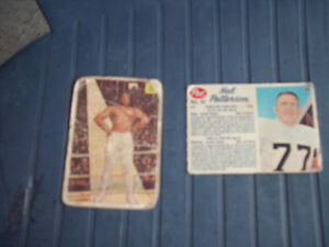 2-CARTES SPORTIVES,ANTIQUES-DE COLLECTION.