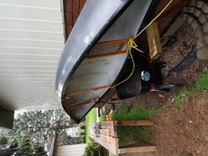 nova craft 17' canoe for sale