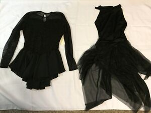 Black skating dresses- brand new with tags!