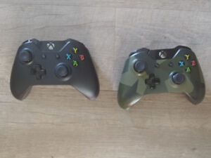 2 Xbox One controllers $50/both