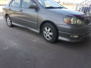 2005 Toyota Corolla S Model Certified Etested Sedan