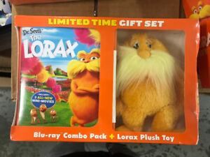 Dr.   Seuss' The   Lorax Blu-ray Combo Pack + Lorax Plush Toy