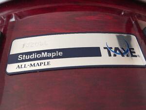Caisse claire TAYE Studio Maple Snare 14x5.5