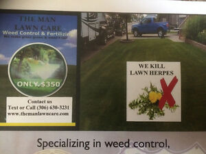 Weed Control and Fertilizing