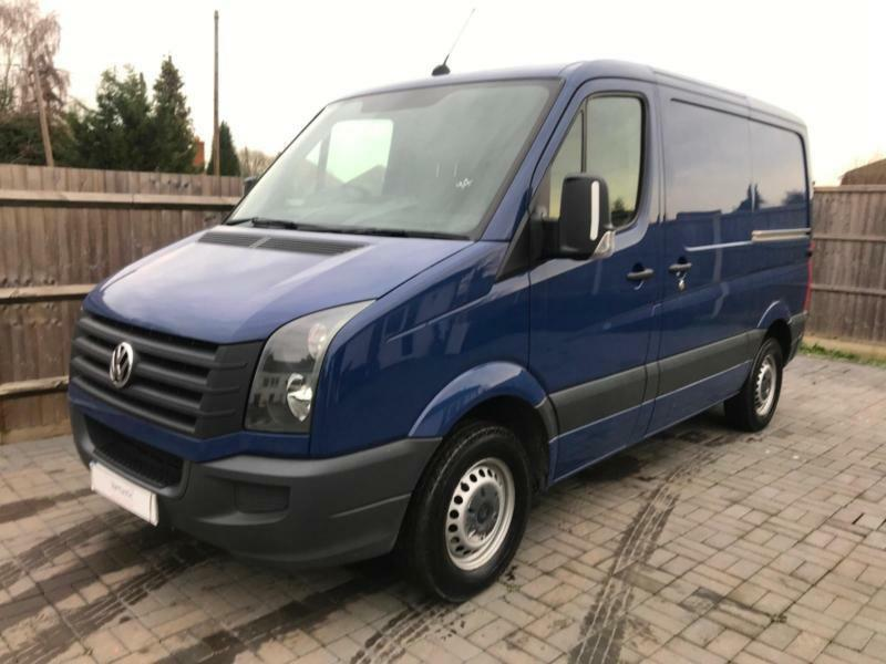 2f6d8a9fa3 2014  64 REG VOLKSWAGEN VW CRAFTER SWB BLUE ONE OWNER NEW MOT PANEL VAN