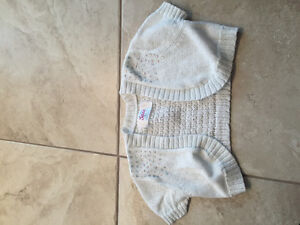 Justice size 6/7 summer cami sweater