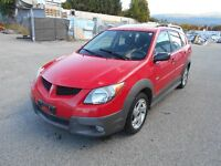2004 Pontiac Vibe Auto New Brakes Inspection Report  148000KM