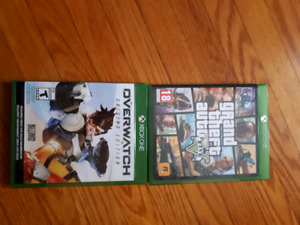 Overwatch and GTAV for the Xbox one