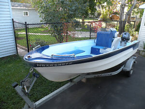 Motor Boat and Trailer for sale