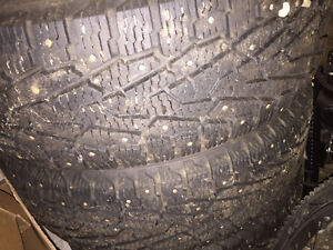 Nokian studded tires and rims