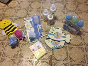 Bunch of baby items