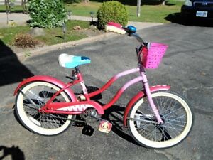 Girls Huffy bicycle in excellent shape used one year