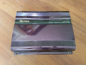 Pioneer GM-X414 four channel amplifier