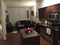 Beautiful 1 bedroom + den right off Lakeshore!