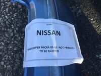 Nissan micra 2005-2010 back bumper painted in blue £35