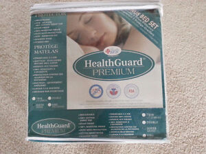 NEW Queen size mattress protector- health guard