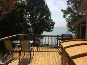 Long Point area Lakefront cottage rental one week left July 7-14