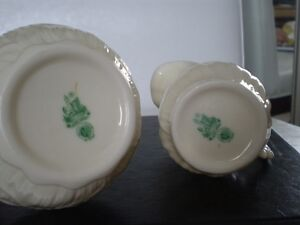Belleek Porcelain Lily Cream and Sugar Kitchener / Waterloo Kitchener Area image 6
