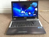Samsung RF511 core i5 750GB 8GB Windows 7 laptop