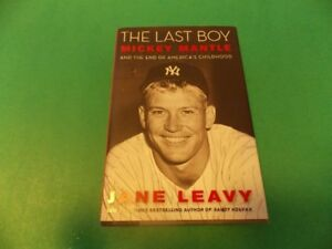 livre the last boy mickey mantle version anglaise