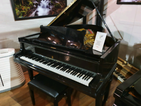Steinway & sons model OP grand piano black polyester for sale
