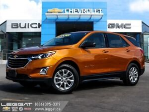 2018 Chevrolet Equinox LS  - One owner - Bluetooth