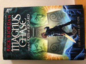 Six Rick Riordan books for young adults for $15