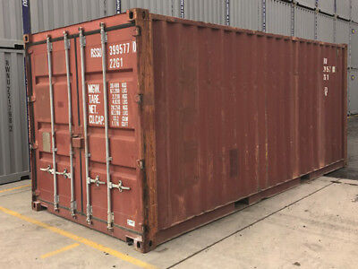 20ft Used Shipping Container - Guaranteed Wind Watertight In Long Beach Ca