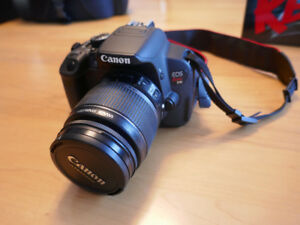 Canon Rebel EOS T4I 650 18 MP DSLR Camera