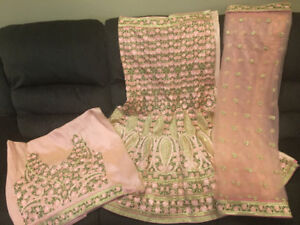 Brand New Unstiched Lengha