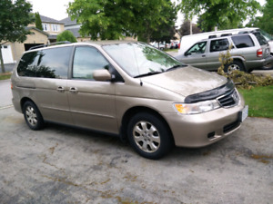 Honda minivan with very low mileage