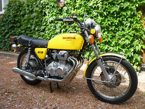 1976 CB 400F- EXTREMELY LOW MILEAGE FULLY RESTORED