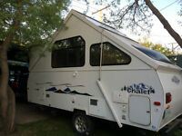 Chalet Folding Hard Walled Camper