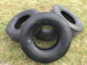 Four Sailun Radial S637 by ST235/85R16 Trailer Tires
