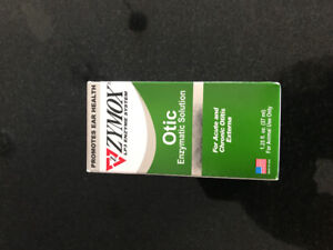 Zymox Otic enzymatic solution 1.25 oz for Dog or cats