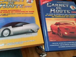 Carnet de route 1995 et 1997