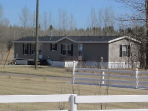 2008 Mobile Home on 4.99 acres close to town - Edson, AB