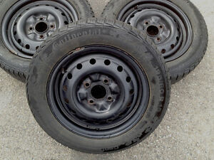 4 bolts x15in winter tires for sale