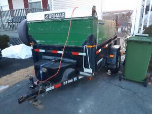 2009 Bri-Mar Single Axle Dump Trailer DT508