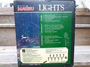 Low voltage lighting set of 10