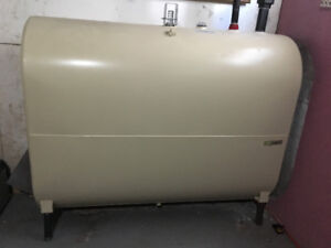 Oil Tank and Hot Water Furnace for sale!