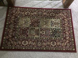 Kashan area rug - size 3 feet x 4 feet