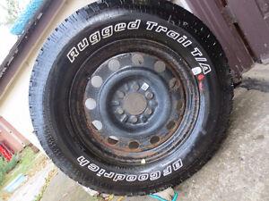 1 new BFGoodrich  Rugged Trail T/A Tire P275/65R18 114