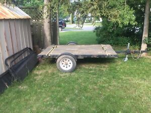 Snow Mobile/Utility Trailer For Sale